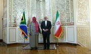 دیدار ظریف با وزیر امور خارجه آفریقای جنوبی