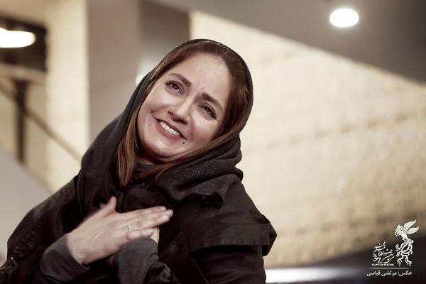 ژست های جالب مهناز افشار در جشنواره فیلم فجر+ عکس