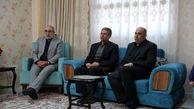 دیدار مدیر عامل بانک ملی ایران با خانواده شهید طارمی