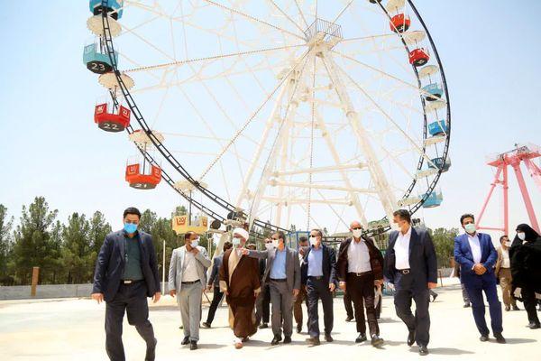احداث دریاچه مصنوعی در بوستان غدیر