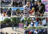 برگزاری همابش پیاده روی 400 شهروند منطقه 15 در بوستان آزادگان