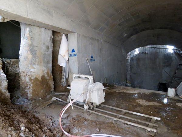 پیشرفت قابل ملاحظه عملیات احداث دسترسی شرقی زیرگذر گلوبندک