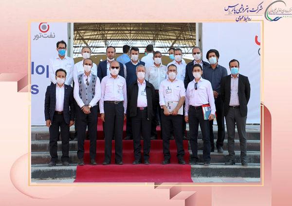 بازدید مدیرعامل شرکت پتروشیمی پارس از چهارمین دوره نمایشگاه نفت، گاز و پتروشیمی پارس جنوبی عسلویه