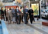 بازدید شهردار تهران ازپروژه باغ راه حضرت فاطمه زهرا (س)