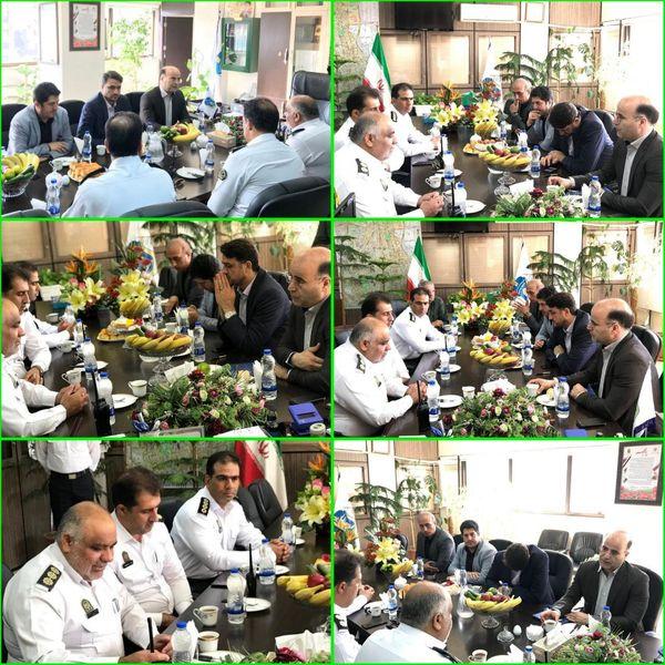 تقدیر وتشکر از تلاش ها وخدمات ارزنده نیروی انتظامی