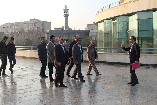 بازدید معاون امور اجتماعی و فرهنگی شهرداری تهران از مجموعه رازی
