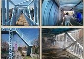 ضدعفونی و رنگ آمیزی بیش از چهار هزار مترمربع از پل های سواره رو شمال شرق تهران