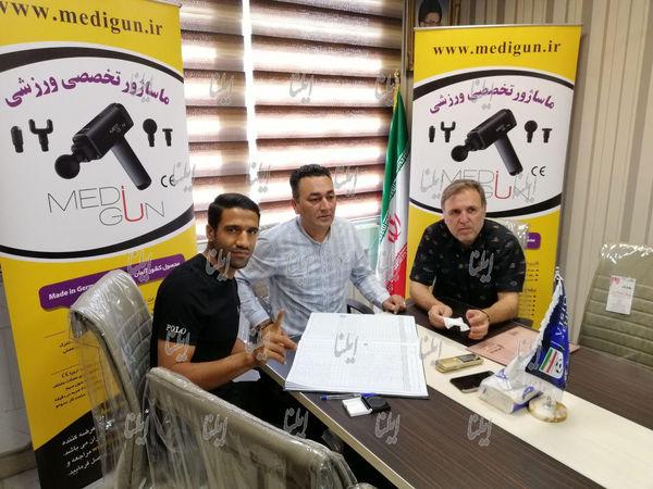 مسعود ریگی قراردادش را با استقلال ثبت کرد