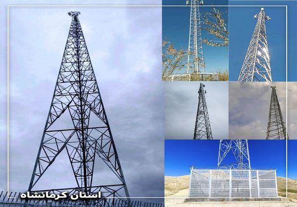 قطار توسعه شبکه ارتباطی همراه اول در ایستگاه کرمانشاه