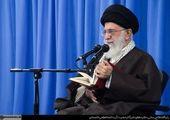 بازدید آیتالله خامنهای از مناطق بمبارانشده تهران در سال 66 +عکس