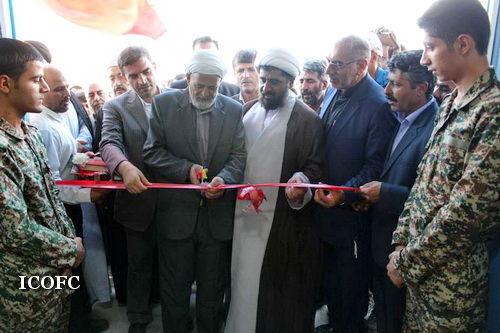 افتتاح دو پروژه عام المنفعه در شهرستان سرخس