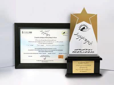 کسب رتبه برتر تاثیرگذار بلوغ رسانه های دیجیتال توسط بانک سینا