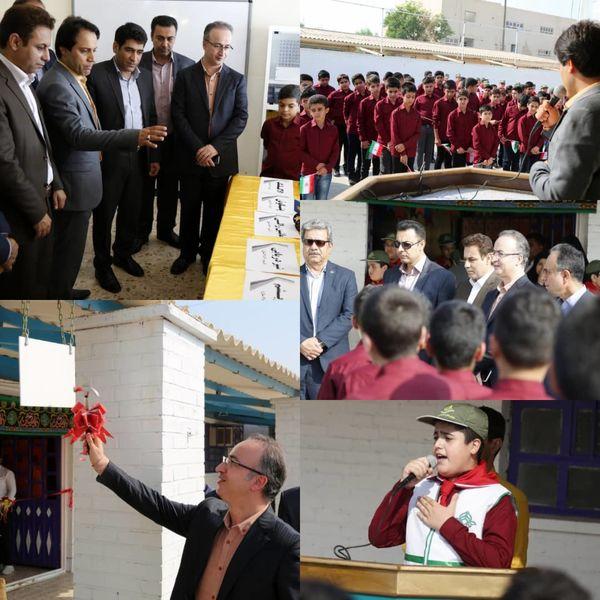 افتتاح اولین مدرسه در بندرماهشهر  با رویکرد کارآفرینی و مهارت آموزی