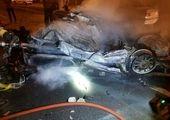 حضور شهردار منطقه 10 در مراسم عزادارای ایستگاه آتش نشانی شهید بلاغت نیا