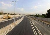  ادامه عملیات بهسازی روکش آسفالت در بزرگراه شهید یاسینی