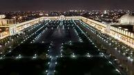 میدان امام  اصفهان روشن می شود