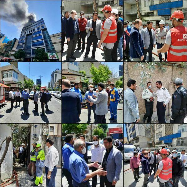 حریق یک واحد مسکونی در خیابان ۱۳ خالد مهار شد