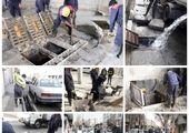وضعیت مطلوب معابر و کانالهای منطقه 15 در بارندگی های پاییزی