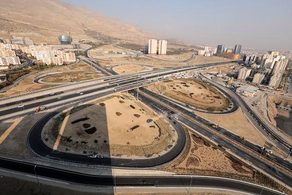 ادامه فعالیت های اجرایی در تقاطع غیرهمسطح بزرگراه شهید خرازی با محور 45 متری شهید باقری