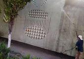 ایمن سازی و رفع خطر معابر شمال شرق تهران با احداث دیوارهای سنگی