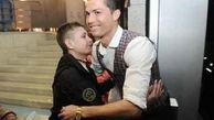 پسری که جان خود را مدیون رونالدو می داند!+عکس