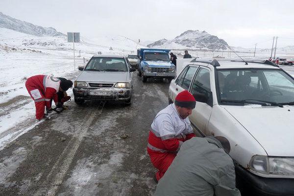 ۲۴ استان کشور درگیر برف و کولاک و سیل و آبگرفتگی