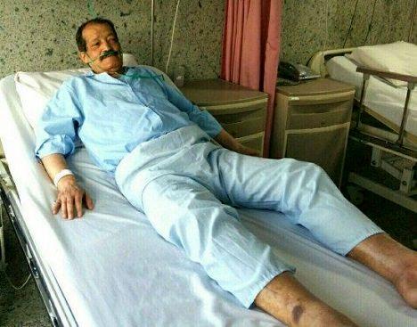 دستنوشته بازیگر معروف در بیمارستان و حال ناخوشایندش +عکس