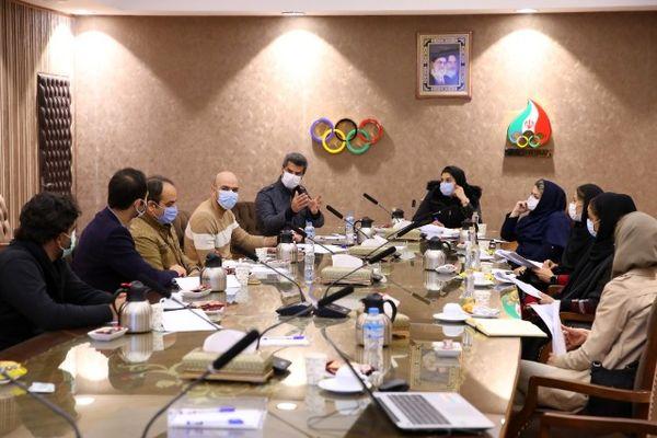 برگزاری نشست کمیسیون ورزشکاران کمیته ملی المپیک