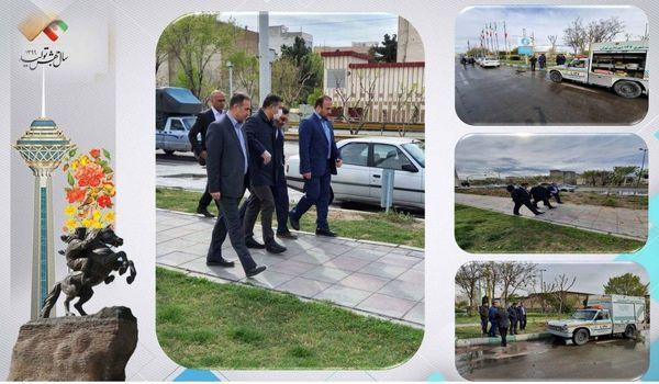 بازدید  شهردار منطقه۱۵ از کانال ها و نهرهای منطقه