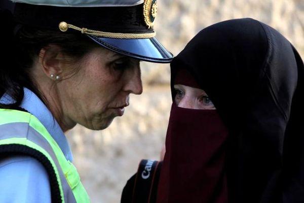 ممنوعیت پوشش برقع در دانمارک +عکس