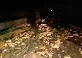 توزیع بسته های ۷۲ ساعته میان زلزله زدگان