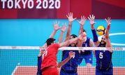 شکست تیم ملی والیبال ایران برابر ایتالیا در بازی های المپیک