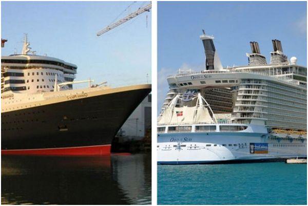 بزرگترین کشتیهایی که تابهحال ساخته شدهاند