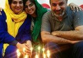 جشن سالگرد ازدواج «مهنار افشار» و همسرش! +عکس
