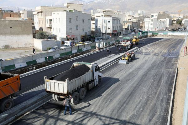 گزارش  از آخرین وضعیت طرح بهسازی معابر شهر تهران
