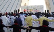 """استقبال شهروندان از پویش """"دوشنبه های ورزشی"""" در میدان آزادی"""