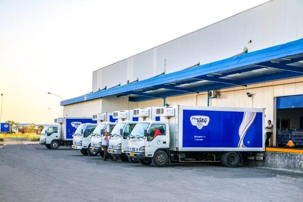 شیر استریل «غشاذر» در بازار امارات