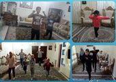 برگزاری مسابقات آنلاین ورزشی برای شهروندان منطقه15