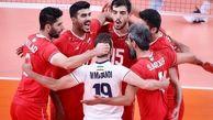والیبال ایران در رده دهم جهان
