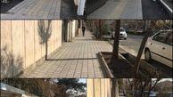 پیاده روسازی معابر با مشارکت شهروندان درناحیه یک