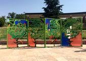 رنگ آمیزی شهرک گل ها در محله تاکسیرانی منطقه۱۴