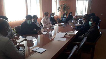 برگزاری جلسه هماهنگی کاشت محصولات پاییزه سال زراعی ۱۴۰۱-۱۴۰۰ در شهرستان شازند