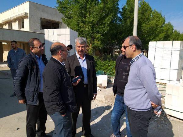 انعقاد قرارداد بازسازی و نوسازی ساختمان اداری پتروشیمی شهید تندگویان